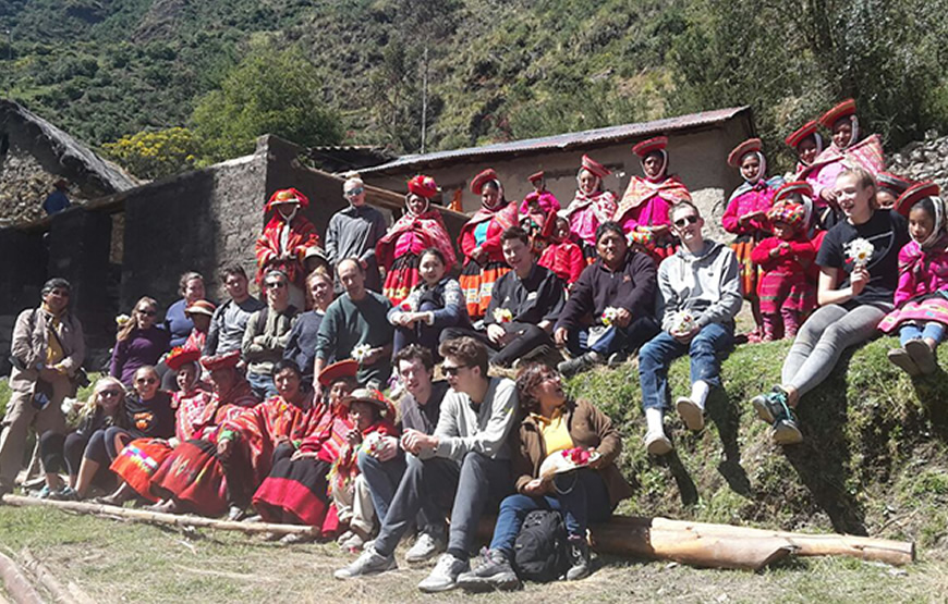 """Part of our great team in Peru""""We are the new option of the tourism"""""""